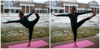 ... And a few balance poses for good measure.